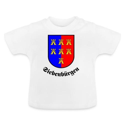 Tasse Siebenbürgen mit Sachsenwappen - Baby T-Shirt