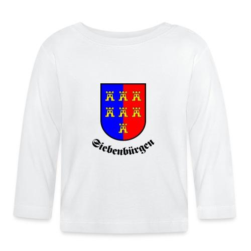 Tasse Siebenbürgen mit Sachsenwappen - Baby Langarmshirt