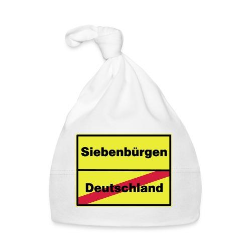 Kaffeepott Ortsschild Siebenbürgen - Baby Mütze