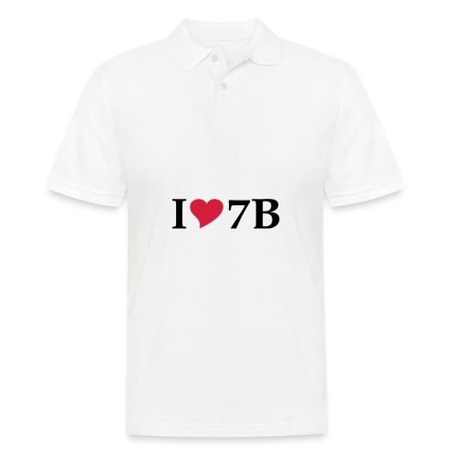 Tasse I love Siebenbürgen - Männer Poloshirt