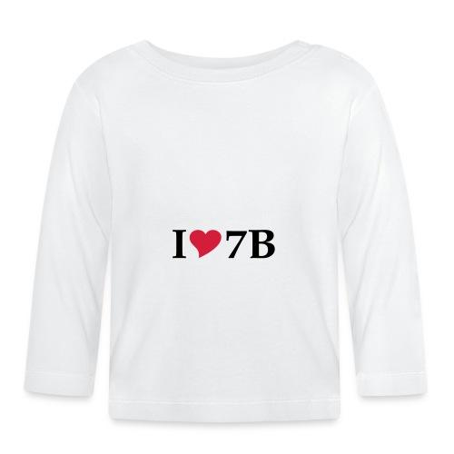 Tasse I love Siebenbürgen - Baby Langarmshirt