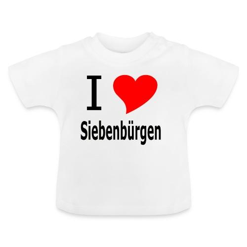 Tasse I love Siebenbürgen - Baby T-Shirt