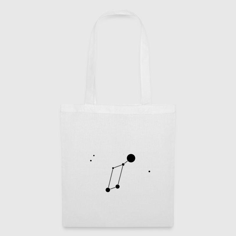 White Lyra Constellation Bags  - Tote Bag