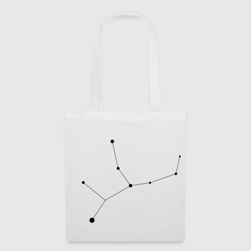 White Virgo Constellation Bags  - Tote Bag