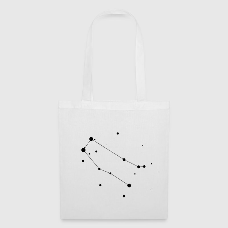 White Gemini Constellation Bags  - Tote Bag
