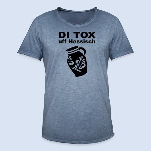 DETOX auf Hessisch - FRANKFURT DESIGN BABY - Männer Vintage T-Shirt