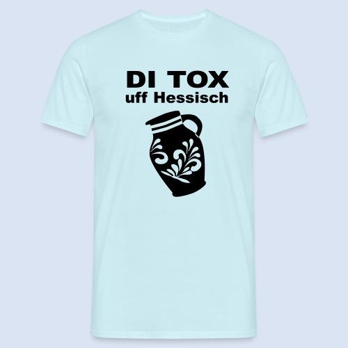 DETOX auf Hessisch - FRANKFURT DESIGN BABY - Männer T-Shirt