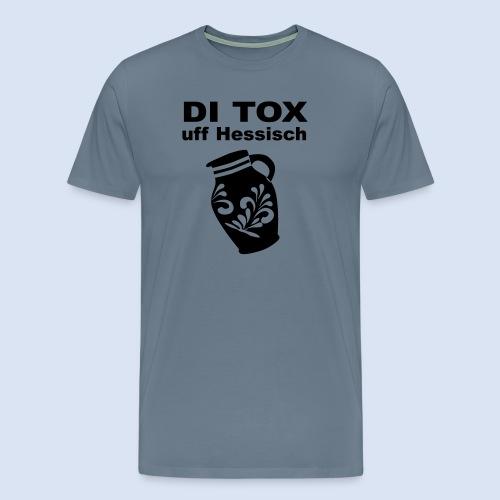 DETOX auf Hessisch - FRANKFURT DESIGN BABY - Männer Premium T-Shirt