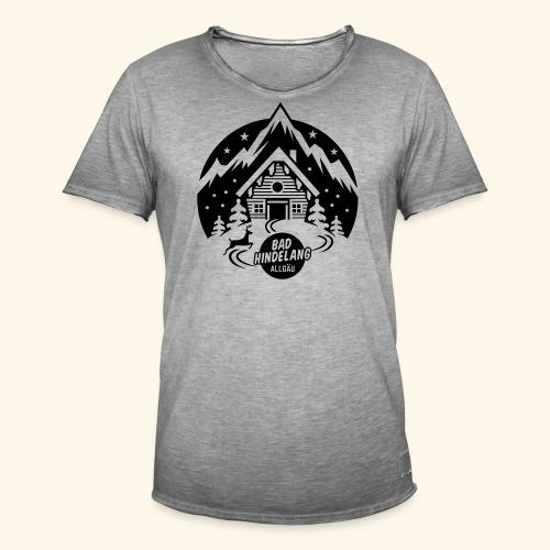 Bad Hindelang, Allgäu - Männer Vintage T-Shirt