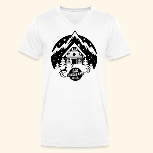 Bad Hindelang, Allgäu - Männer Bio-T-Shirt mit V-Ausschnitt von Stanley & Stella