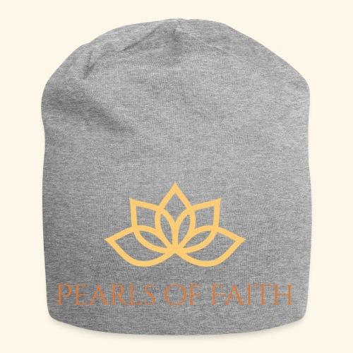 Pearls of Faith - Jersey-Beanie