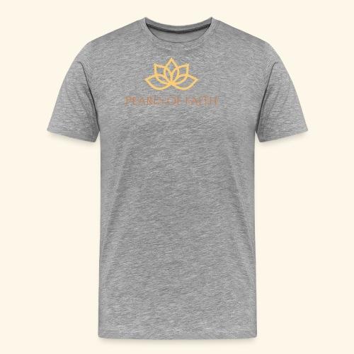 Pearls of Faith - Männer Premium T-Shirt