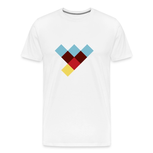 WLY Button small - Männer Premium T-Shirt
