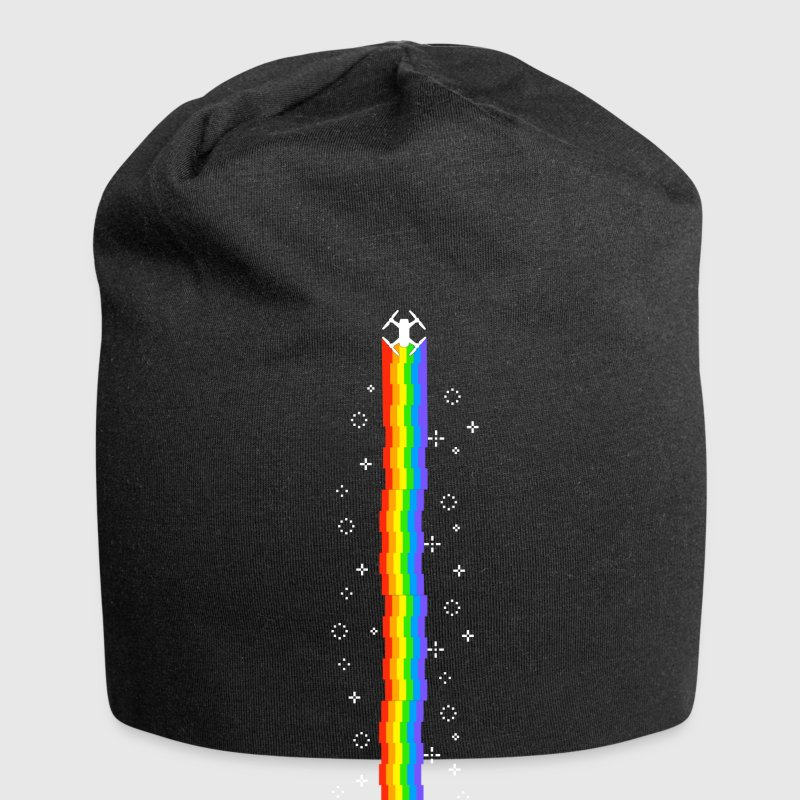 REGENBOGEN MAGIC DROHNE Caps & Mützen - Jersey-Beanie