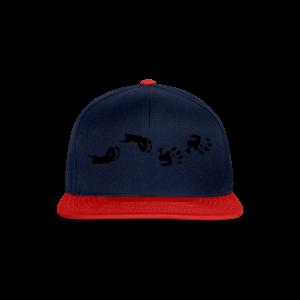 Baby Hand- und Fussabdruck Shirt - Snapback Cap