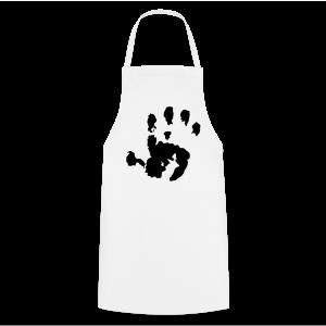 Baby Handabdruck Shirt - Kochschürze