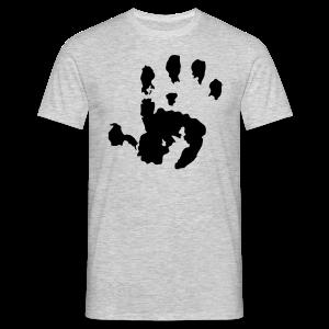 Baby Handabdruck Shirt - Männer T-Shirt