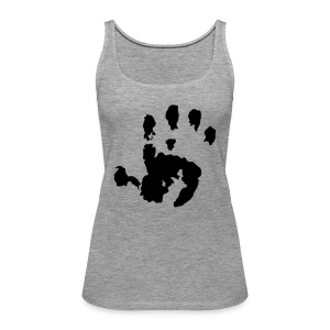 Baby Handabdruck Shirt - Frauen Premium Tank Top