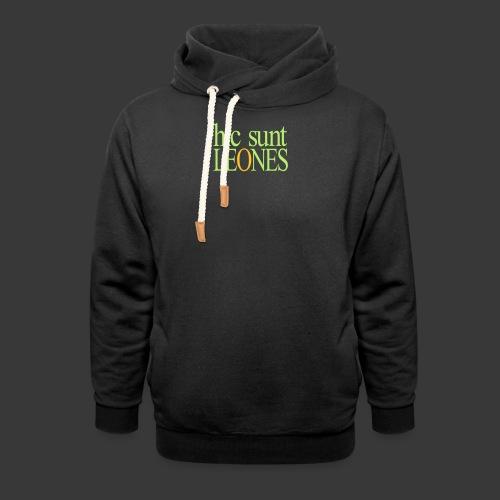 HIC SUNT LEONES - Shawl Collar Hoodie