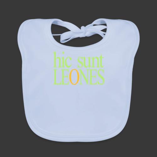 HIC SUNT LEONES - Baby Organic Bib