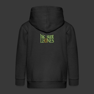HIC SUNT LEONES - Kids' Premium Zip Hoodie