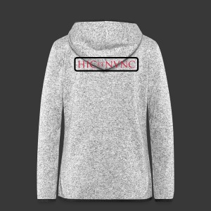 HIC ET NUNC - Women's Hooded Fleece Jacket