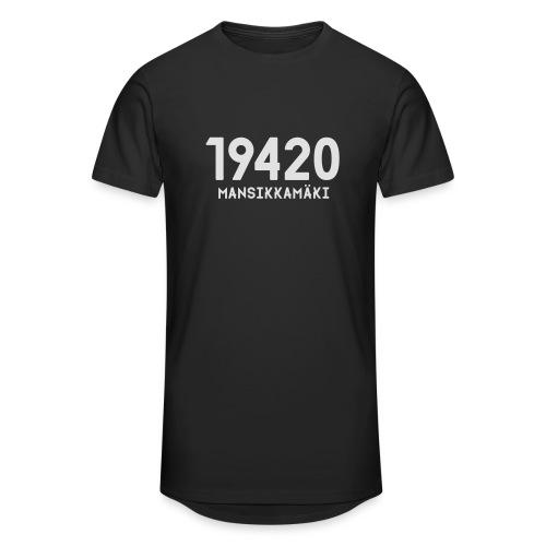 19420 MANSIKKAMÄKI - Miesten urbaani pitkäpaita