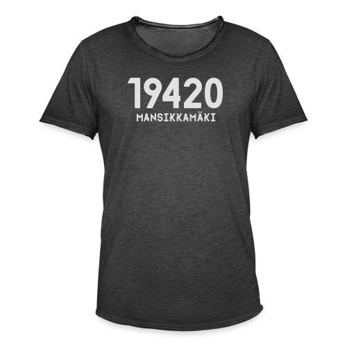 19420 MANSIKKAMÄKI - Miesten vintage t-paita