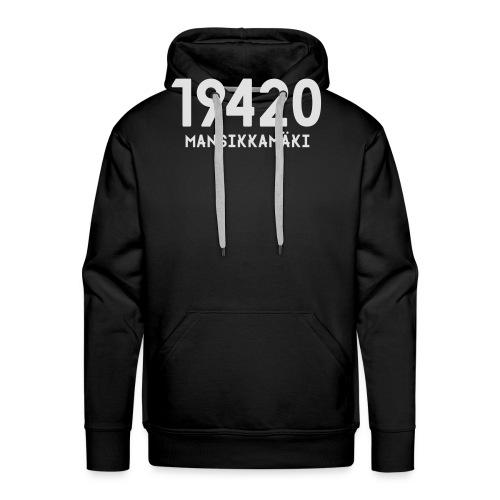 19420 MANSIKKAMÄKI - Miesten premium-huppari