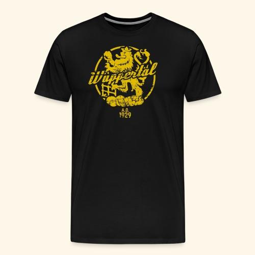 Stadtwappen Wuppertal - Männer Premium T-Shirt