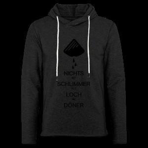 Dönerloch - Leichtes Kapuzensweatshirt Unisex