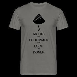 Dönerloch - Männer T-Shirt