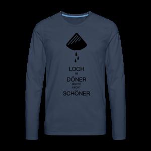 Dönerloch 2.0 - Männer Premium Langarmshirt