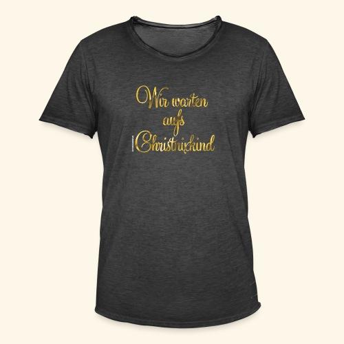 Christnixkind - Männer Vintage T-Shirt