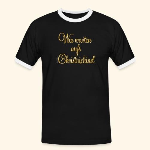 Christnixkind - Männer Kontrast-T-Shirt
