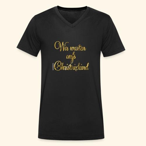 Christnixkind - Männer Bio-T-Shirt mit V-Ausschnitt von Stanley & Stella