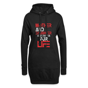 Mother and Daughter best friends for life - Hoodie-Kleid