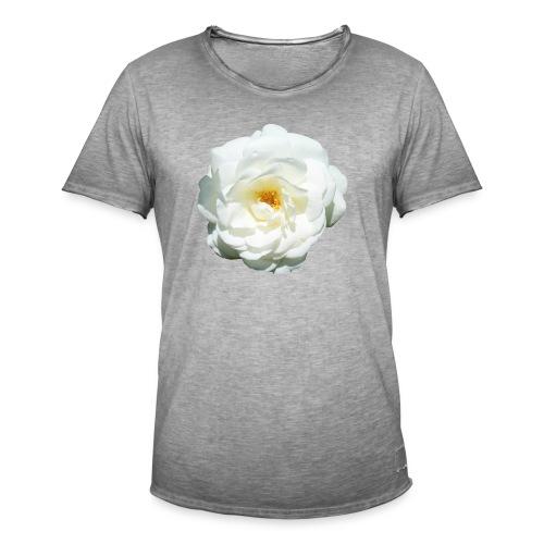 Rose-6 - Männer Vintage T-Shirt