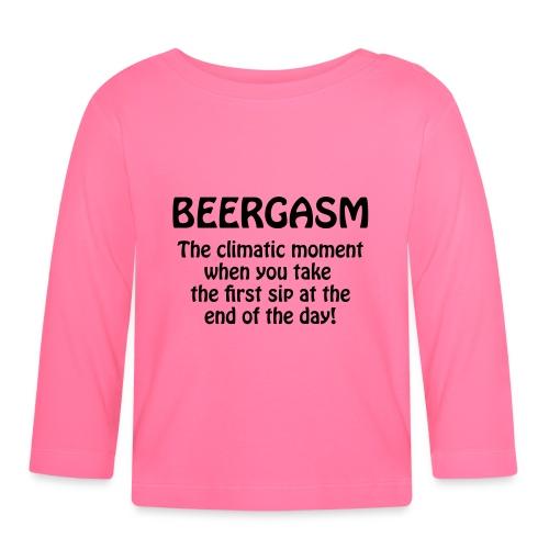 BEERGASM Beer Lover Beer Porn Hash House Harriers - Baby Long Sleeve T-Shirt