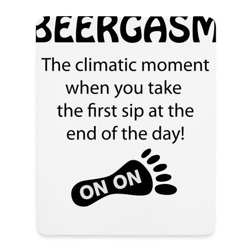 BEERGASM Beer Lover Beer Porn #HashHouseHarriers - Mouse Pad (vertical)