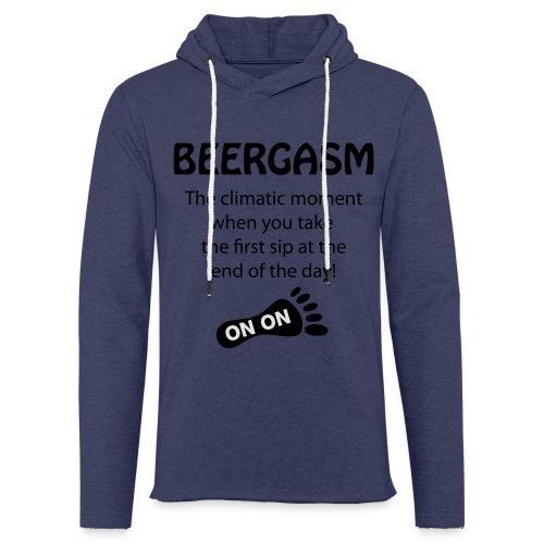 BEERGASM Beer Lover Beer Porn #HashHouseHarriers - Light Unisex Sweatshirt Hoodie
