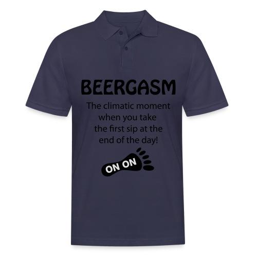 BEERGASM Beer Lover Beer Porn #HashHouseHarriers - Men's Polo Shirt