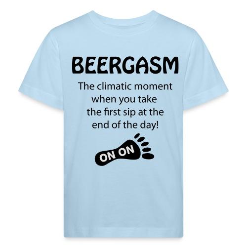 BEERGASM Beer Lover Beer Porn #HashHouseHarriers - Kids' Organic T-Shirt