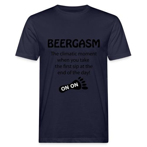 BEERGASM Beer Lover Beer Porn #HashHouseHarriers - Men's Organic T-Shirt