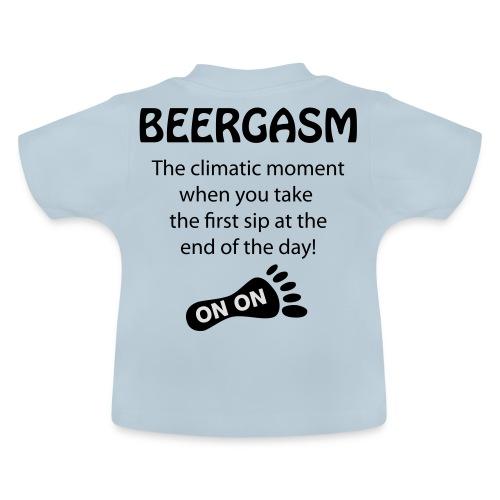 BEERGASM Beer Lover Beer Porn #HashHouseHarriers - Baby T-Shirt