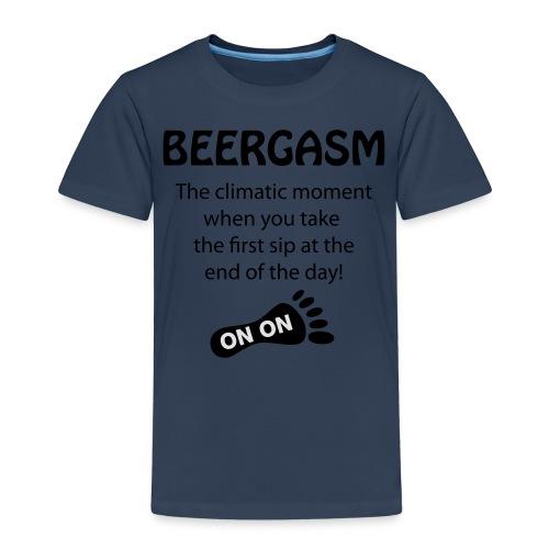 BEERGASM Beer Lover Beer Porn #HashHouseHarriers - Kids' Premium T-Shirt