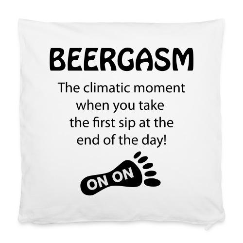 BEERGASM Beer Lover Beer Porn #HashHouseHarriers - Pillowcase 40 x 40 cm