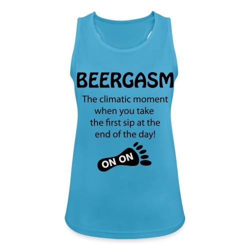 BEERGASM Beer Lover Beer Porn #HashHouseHarriers - Women's Breathable Tank Top