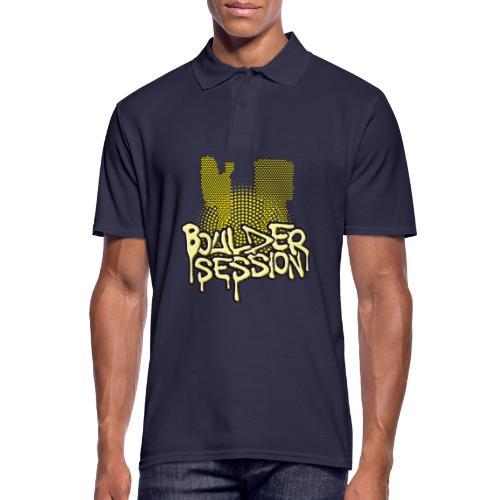 Boulder Session - Männer Poloshirt