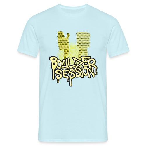 Boulder Session - Männer T-Shirt
